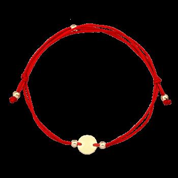 Cadou Bijuterii iti ofera cele mai mici preturi pentru bratarile cu snur rosu si banut din aur