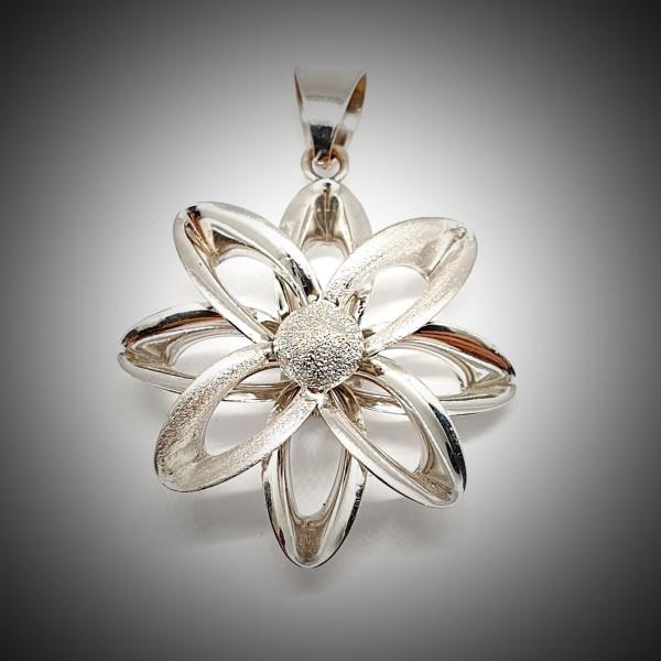 Pandantiv-Aur-Alb-Floare-1