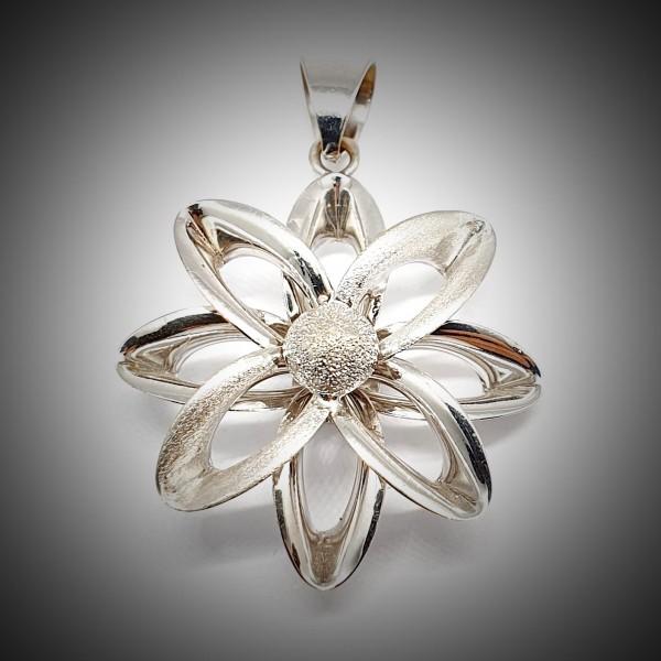 Pandantiv-Aur-Alb-Floare-2
