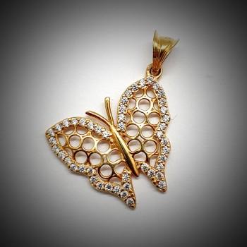 Pandantiv-Aur-Fluture-2